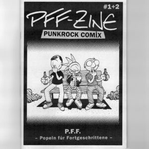Comic-Cover: 3 Punks popeln in der Nase