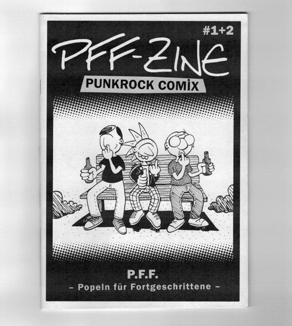 Comic-Cover: 3 Punks popeln in der Nase