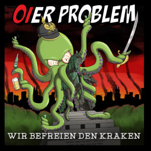 Cover Oier Problem - Wir befreien den Kraken