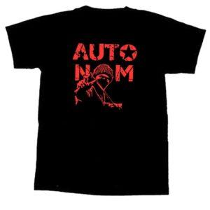 T-Shirt mit Motiv Zwillemann und Autonom