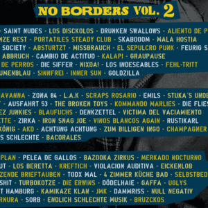 Bandlist No Borders Vol 2